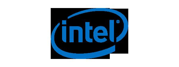 Logo Intel - 600 x 225 pixel