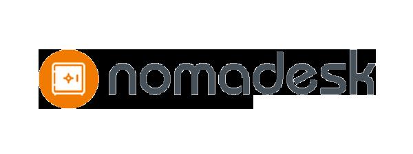 Logo Nomadesk- 600 x 225 pixel