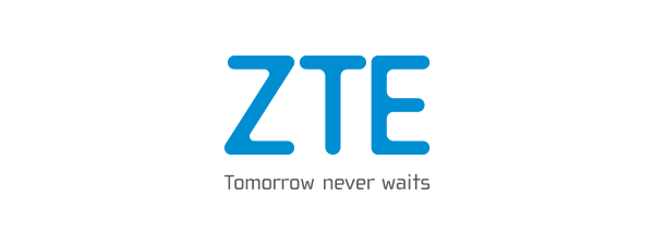 Logo ZTE - 600 x 225 pixel